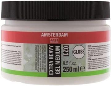 Amsterdam Ekstra Heavy Gel Gloss - 250ml