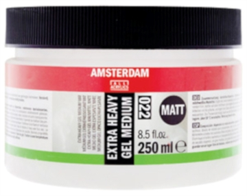 Amsterdam Ekstra Heavy Gel Mat - 250ml