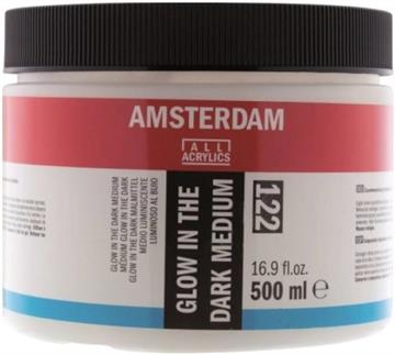 Amsterdam Glow in the dark Medium - 500 ml