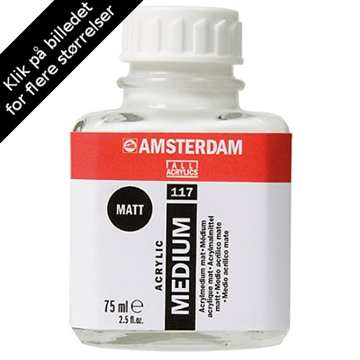Amsterdam Malemedium Matt - 75ml